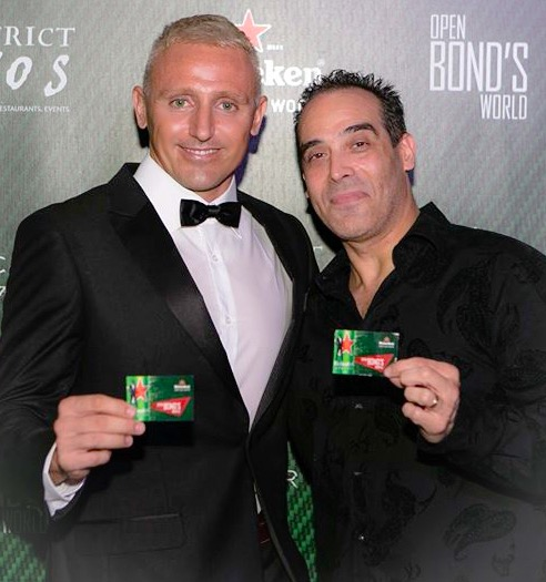 Ivano Cheers Open Bond's World
